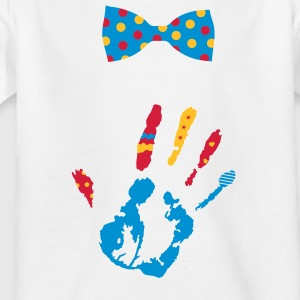 A bow tie with dots Kids' Shirts - Kids' T-Shirt