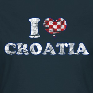 I lOVE croatia - Frauen T-Shirt