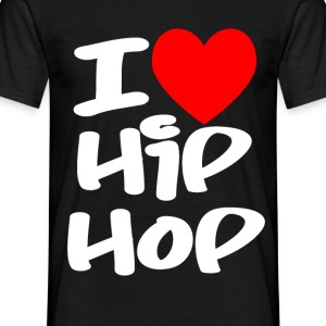 I Love Hip Hop T-Shirts - Men's T-Shirt