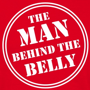MAN BEHIND THE BELLY T-Shirt WR - T-skjorte for menn