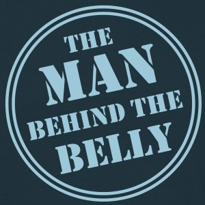 MAN BEHIND THE BELLY T-Shirt AN - Herre-T-shirt