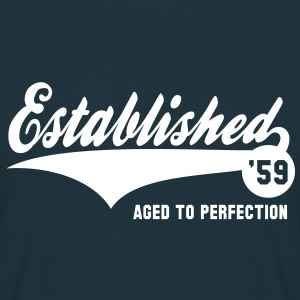Established 59 - Geburtstag Birthday T-Shirt WN - Männer T-Shirt