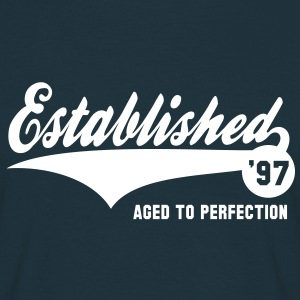 Established 97 - Geburtstag Birthday T-Shirt WN - Männer T-Shirt