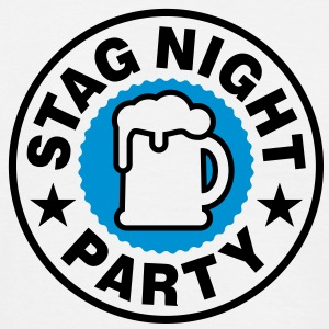Stag Night T-Shirts - T-shirt Homme