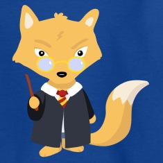 Fox wizard Kids' Shirts
