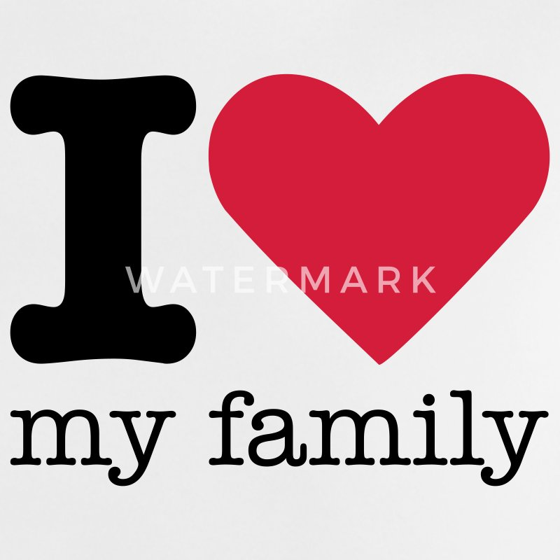 Love My Family Pictures I Love My Family T-Shi...