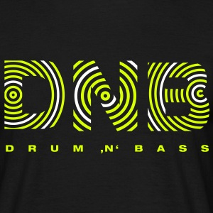 Drum 'n' Bass circle 2 T-Shirts - Männer T-Shirt