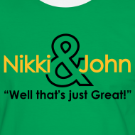 Design ~ Nikki and John well that's just great!