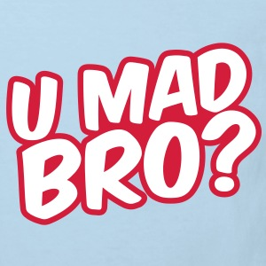 U Mad Bro? Barn-T-shirts - Ekologisk T-shirt barn