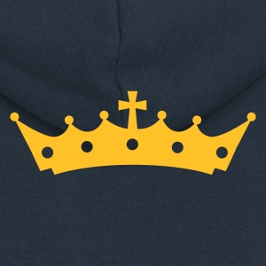 Crown with Cross Sudadera - Chaqueta con capucha premium mujer