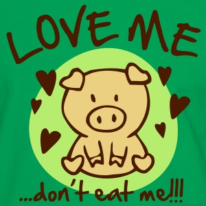 Love me, don't eat me T-Shirts - Men's Ringer Shirt