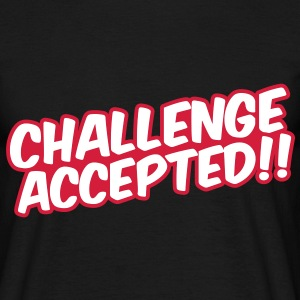 Challenge Accepted T-shirts - T-shirt herr