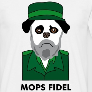 Mops Fidel Tee shirts - T-shirt Homme
