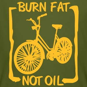 burn fat, not oil T-Shirts - Men's Organic T-shirt