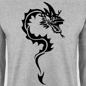 dragon tribal tatouage1 Sweat-shirts - Sweat-shirt Homme