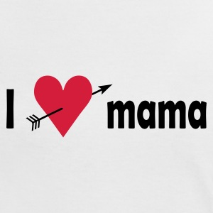 I love Mama T-shirts - Vrouwen contrastshirt