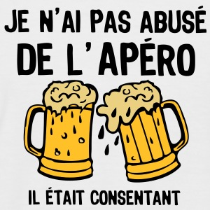 abuse alcool apero consentant1 Tee shirts - T-shirt baseball manches courtes Homme