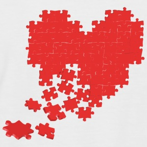 heart T-Shirts - Men's Baseball T-Shirt