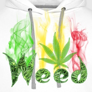 weed Sweat-shirts - Sweat-shirt à capuche Premium pour hommes
