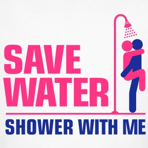 Save Water 3 (2c)++ T-shirts - Mannen Bio-T-shirt