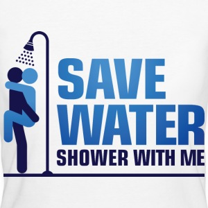 Save Water 2 (dd)++ T-Shirts - Frauen Bio-T-Shirt