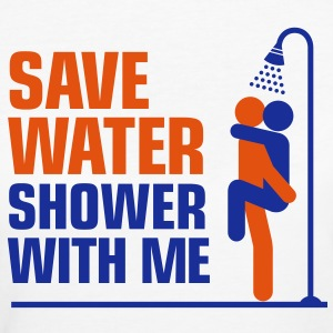 Save Water 1 (2c)++ T-shirts - Vrouwen Bio-T-shirt