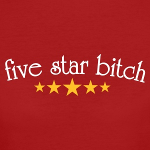 Five star  T-shirts - Vrouwen Bio-T-shirt