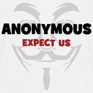[SE] Anonymous T-shirts - Herre-T-shirt