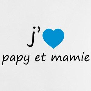 J'aime Papy et Mamie Shirts - Baby T-Shirt