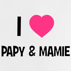 I Love Papy & Mamie Shirts - Baby T-Shirt