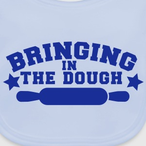 BRINGING in the DOUGH bakers chef cooking joke Accessories - Baby Organic Bib