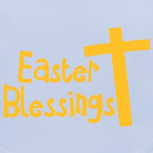 EASTER blessings with a tall cross Jesus Christ Accessories - Baby Organic Bib