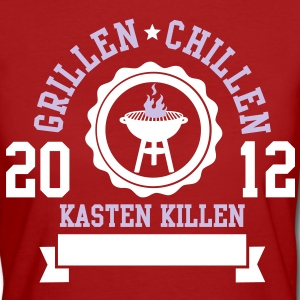 Grillen / Chillen / Kasten Killen T-Shirts - Frauen Bio-T-Shirt