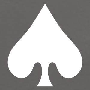 poker card / spades T-Shirts - Women's Ringer T-Shirt