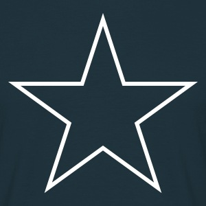 Star outline Tee shirts - T-shirt Homme