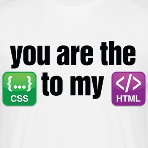 You Are The Css 3 (dd)++ T-skjorter - T-skjorte for menn