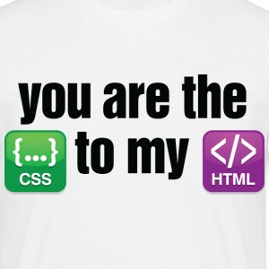 You Are The Css 3 (dd)++ T-shirt - Maglietta da uomo