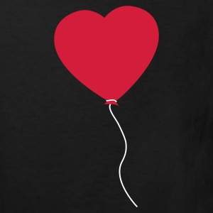 Love Heart Balloon Kinder shirts - Kinderen Bio-T-shirt