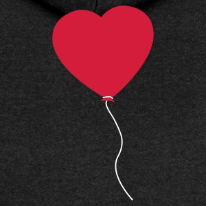Love Heart Balloon Hoodies & Sweatshirts - Women's Premium Hooded Jacket