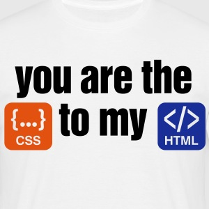 You Are The Css 3 (3c)++ T-Shirts - Männer T-Shirt