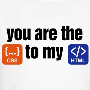 You Are The Css 3 (3c)++ T-skjorter - Økologisk T-skjorte for menn
