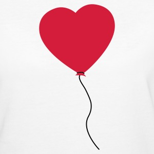 Love Heart Balloon Tee shirts - T-shirt Bio Femme