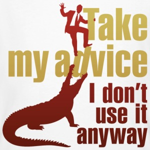 Take My Advice 3 (dd)++ T-shirts - Organic mænd