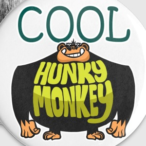 Cool Hunky Monkey Buttons - Buttons large 56 mm