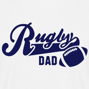Rugby DAD T-Shirt NW - Mannen T-shirt