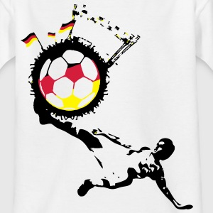 Fussball Nation Deutschland Teenager T-Shirt - Teenager T-Shirt
