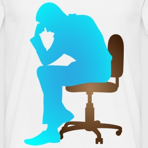 Thinker (dd)++ T-shirts - Herre-T-shirt