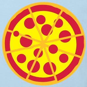 full eight 8 slice pizza PEPPERONI! Shirts - Kids' Organic T-shirt