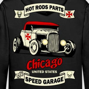 old racing car 3 Sweat-shirts - Sweat-shirt à capuche Premium pour hommes
