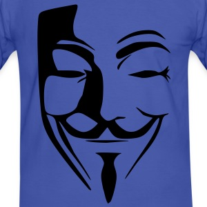 anonymous T-shirts - Mannen contrastshirt